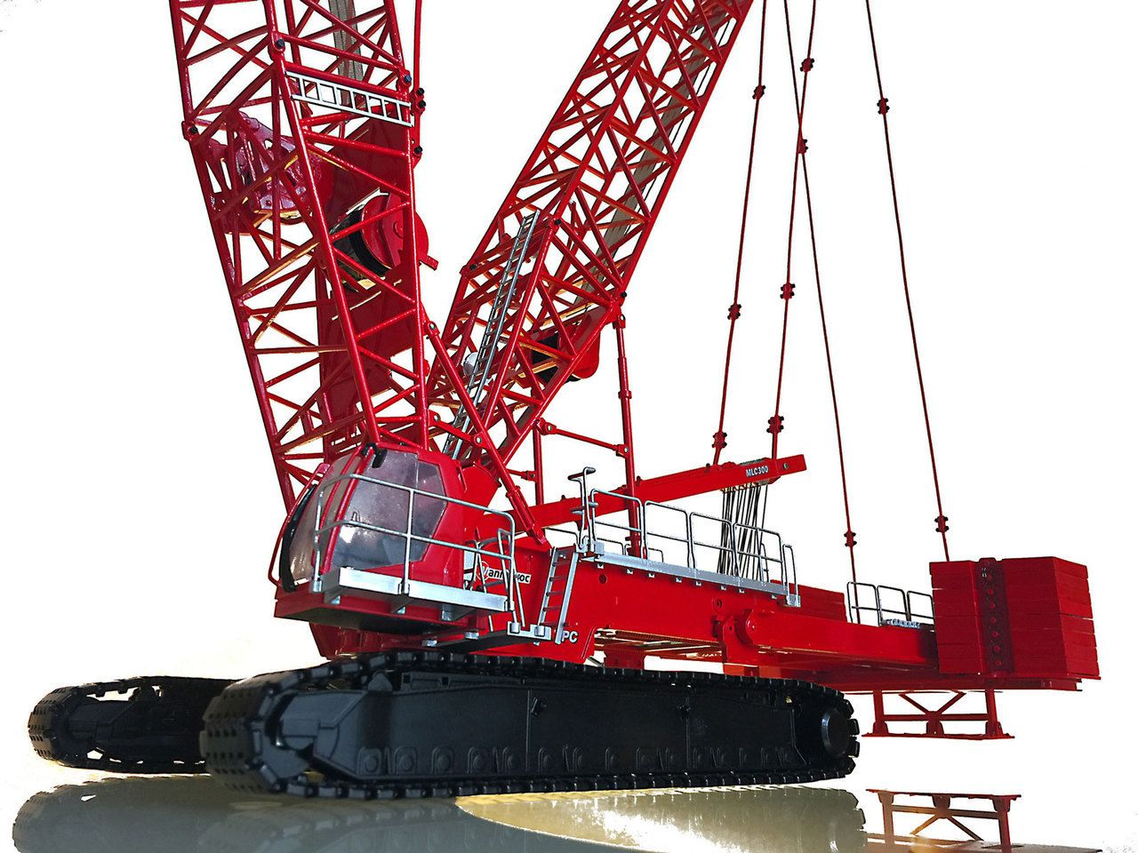 Weiss Brothers   Towsley s Manitowoc MLC300 Lattice-Boom Crawler Crane with  VPC f994bd9e6